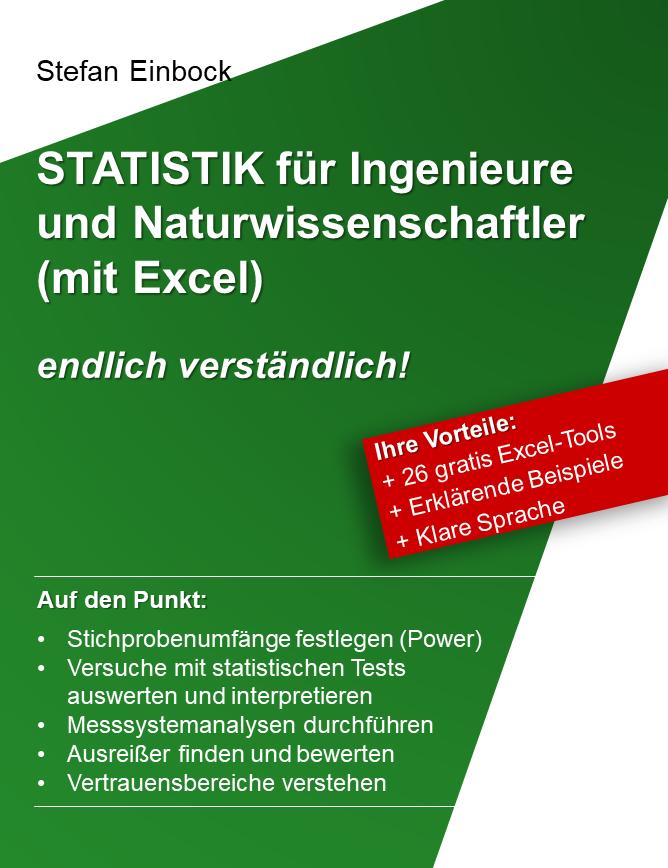 Buch zur Statistik um Versuche mit statistischen Tests bzgl Ausreissern, t-Test, ANOVA, Normalverteilungen auszuwerten, zu planen und zu interpretieren