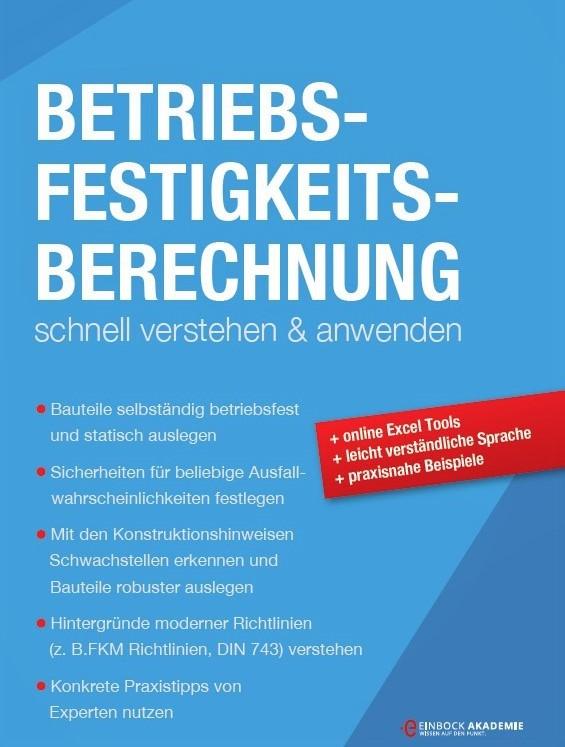 Buch zur Betriebsfestigkeit und der Berechnung von Wöhlerlinien